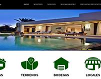 Sitio web para administrar propiedades de inmobiliaria