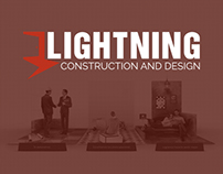 Lightning Construction and Design / Identidad de marca