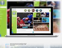 Rio 2016 - Website - UX/UI Project