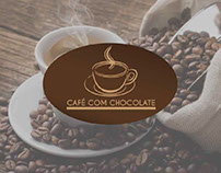 Logotipo Café com Chocolate