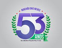 Logo | 53 Anos - Riachão das Neves