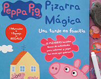 Diseño- Pizarra mágica Peppa Pig 1