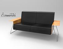 Sofa. 3D Model.
