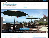 El Faro Escandinavo - website design