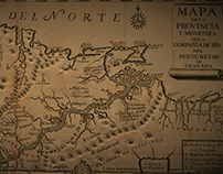 MAPA DE LAS PROVINCIAS DEL NUEVO REINO DE GRANADA