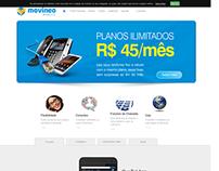 Desenvolvimento do site Movineo Mobi