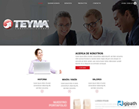 Teyma website