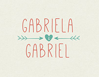 Weeding Invitation | Gabriela & Gabriel