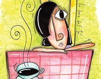 acuarela-la hora del té