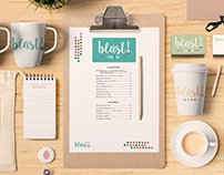 Blast - Coffee&Deli (Branding)