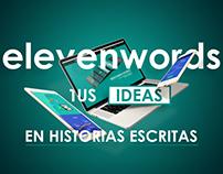 Elevenwords.com - Landing page