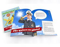 """Diseño Publicitario y Editorial para """"Plan de Vuelo"""""""