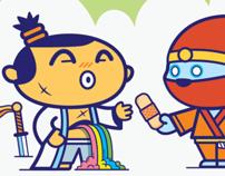 Samurai Doodles by DGPH
