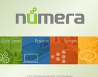 Númera - Website
