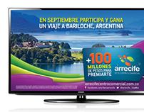 Arrecife Centro Comercial Piezas TV