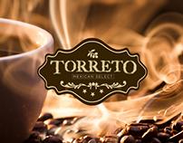 Logotipo y Empaque cafe Torreto