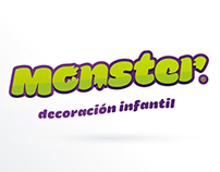 Monster decoracion infantil - Logo - Web