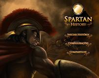 Planejamento e direção de arte - Spartan History
