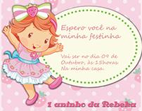 Lembrancinhas 1 ano Rebeka