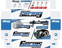 Diseño Empaque • GREKIS Amortiguadores