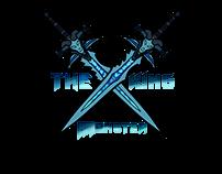 Logo e banner de servidor de word of warcraft