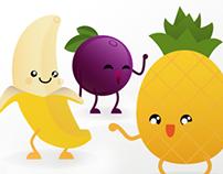 Mascotes Natfrutas