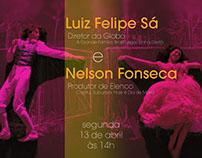 POSTER | Encontro com Luiz Felipe Sá e Nelson Fonseca