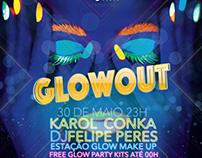 Glowout Party @ Delphin Comunicação