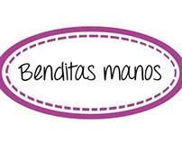 """Logo """"Benditas manos"""" - Indumentaria femenina"""