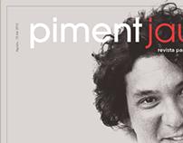 Piment jaune, school magazine project.