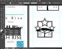 Diseño de identidad para la marca Jah Rise