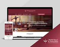 Site Institucional - Morbi Nucci & Associados