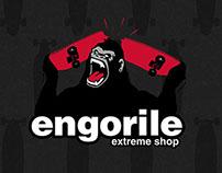 Engorile - Extreme Shop - Identidad visual