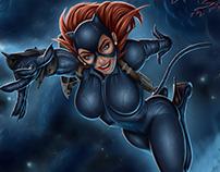 Vayne Neko Girl - League of Legends Fanart