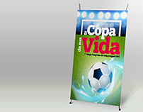 Display about conference - Fifa World Cup2014  theme