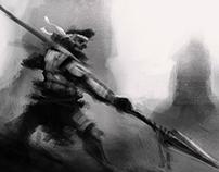 Digital work (character design, concept, etc)