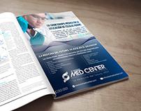 El Salvador Med center Advertising
