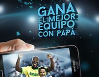 """Digicel - FB Tab """"El mejor equipo con Papá"""""""