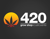 420 Growshop Identity