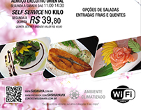 Flyer Sushi Aya