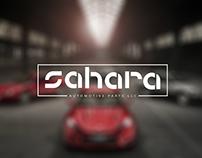 Identidad Gráfica para Sahara Parts LLC