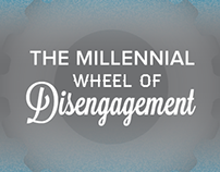 The Millennial Wheel of Disengagement - Infographics