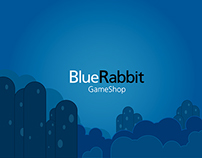 Blue Rabbit Gameshop BRANDING