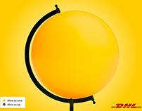 DHL's World Globe