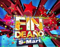 Logo animado Fin de año S-Mart 2013