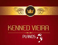 Capa do CD do cantor Kenned Vieira