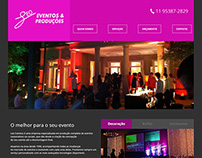 LeoEventos Website Responsive