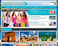 Página Web DeDios Tours