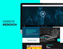 JAZZZ - Website Redesign