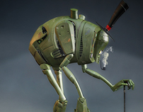 Robot en retiro